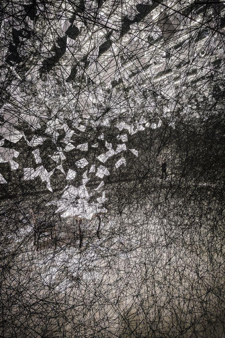 #Chiharu Shiota