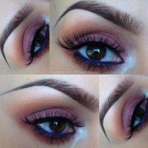 Cranberry Eye Makeup Look
