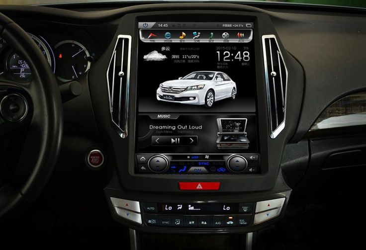 15″ Vertical Screen Android Navigation Radio for Honda Accord 2013-2017