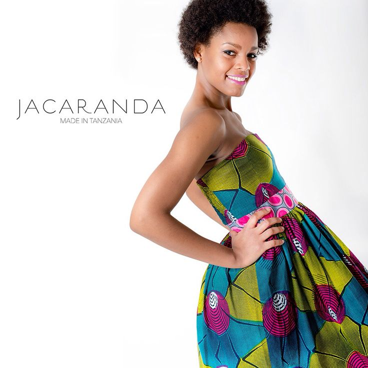 Jacaranda made in Tanzania Fashion-Woman-Charety Project