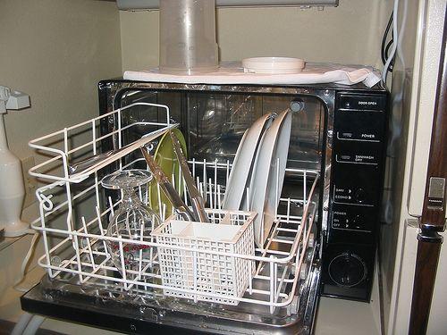 In The Dishwasher by Kaptain Kobold