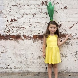 pineapple - Only from Primary - Solid color kids clothes - No logos, slogans, or sequins - All under $25