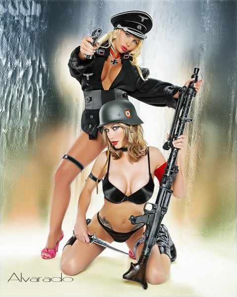 36 best World war II images on Pinterest  Dieselpunk Pin up and