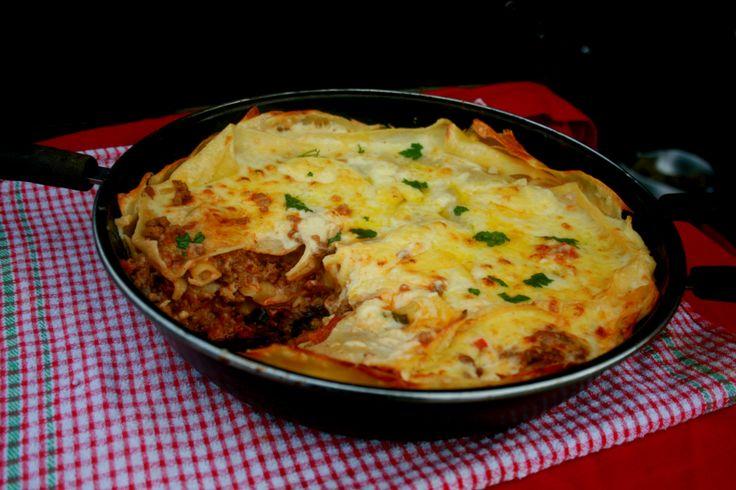 Pan Fried Lasagne