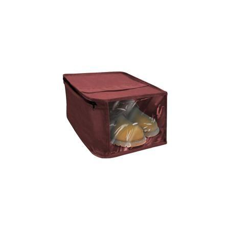 Рыжий кот Чехол для обуви 30*15 см., Рыжий Кот  — 195р. -------- Хранить обувь и одновременно защищать ее от пыли и влаги помогает тканевый чехол для обуви с окошком из ПВХ. Застегивается чехол на молнию, при этом пропускает воздух и отталкивает влагу.   Дополнительная информация:  Размер: 30х15 см Материал: Спанбонд плотностью 80г/м2, ПВХ  Чехол для обуви 30*15 см., Рыжий Кот можно купить в нашем интернет-магазине.