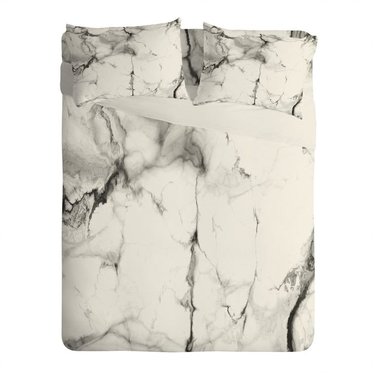 Chelsea Victoria Marble Sheet Set Lightweight | DENY Designs Home Accessories