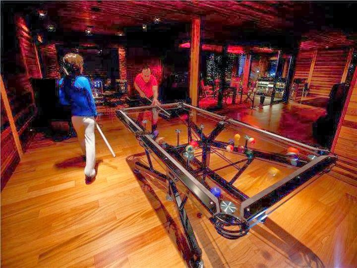 cool pool table man cave style my hearts desire pinterest pool table men cave and glass pool