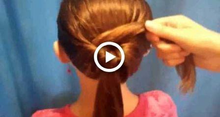Sehr einfache Frisuren für mittleres Haar