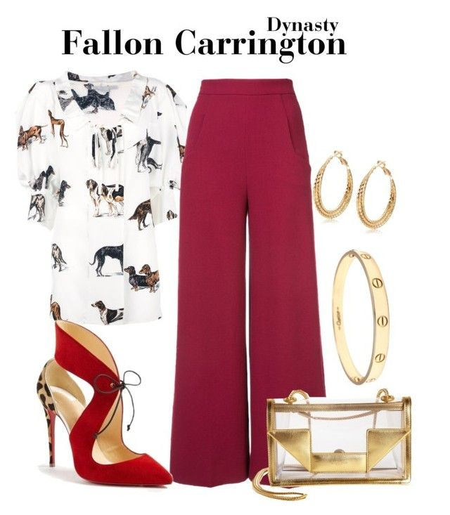 Dynasty by sparkle1277 on Polyvore featuring polyvore, fashion, style, Roland Mouret, Yves Saint Laurent, Cartier, STELLA McCARTNEY, Christian Louboutin and clothing