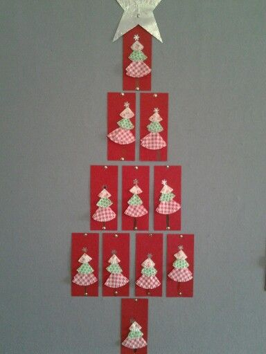 Cupcake paper Christmas trees