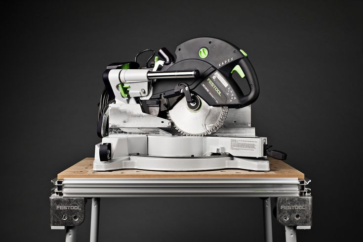 Festool Kapex Miter Saw front view