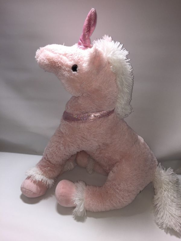 "PINK UNICORN PONY HORSE 22-25"""" PLUSH SUPER SOFT TOY Very Large in Toys & Games, Soft Toys & Stuffed Animals, Branded Soft Toys 