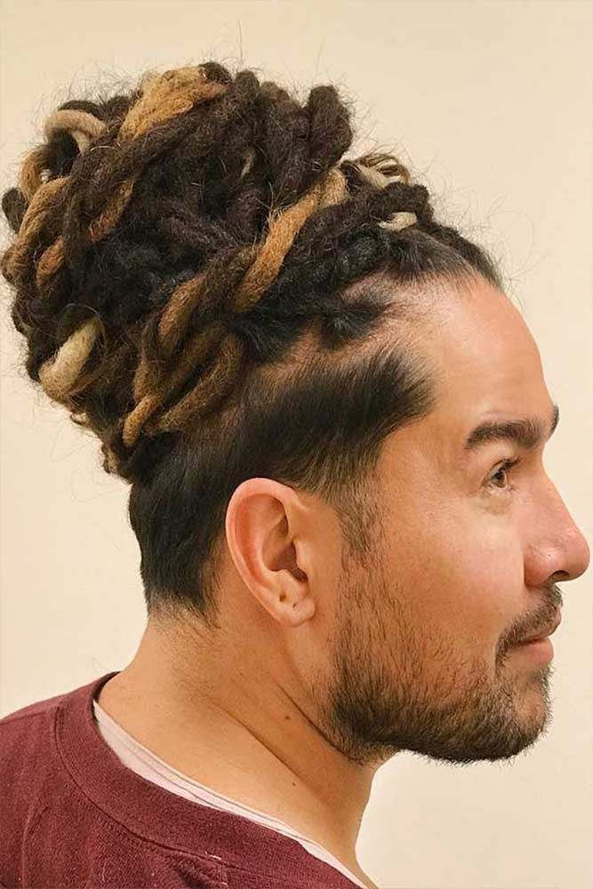 How To Get Style And Sport The On Trend Man Bun Hairstyle Fresh