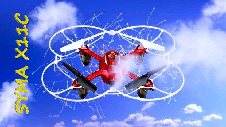 Бюджетный дрон Квадрокоптер #SYMA X11C, для начинающих