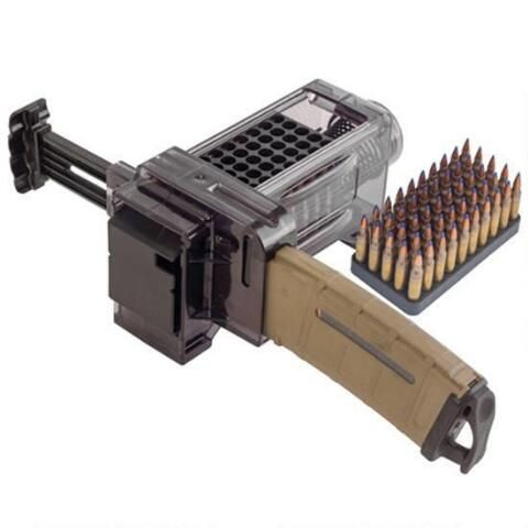 Caldwell Shooting Supplies AR-15 MAG Charger .223 Remington/5.56 NATO Polycarbonate Clear 397488 - 661120974888