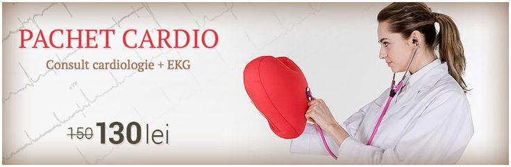 Pachet cardiologie: consultatie cardiologie si EKG cu interpretare.