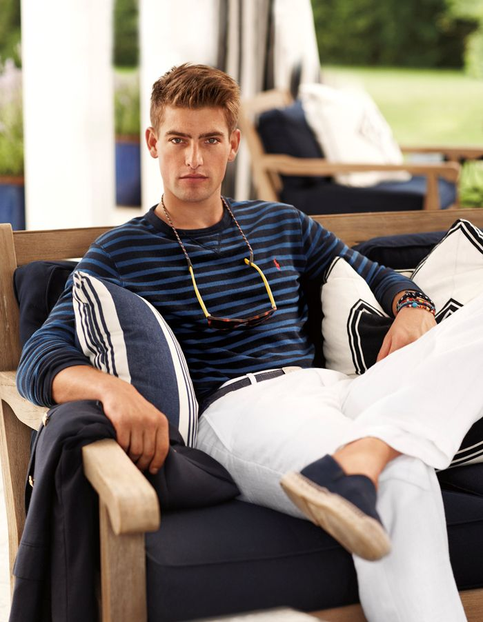Capture the ease of island living with Polo Ralph Lauren Cruise