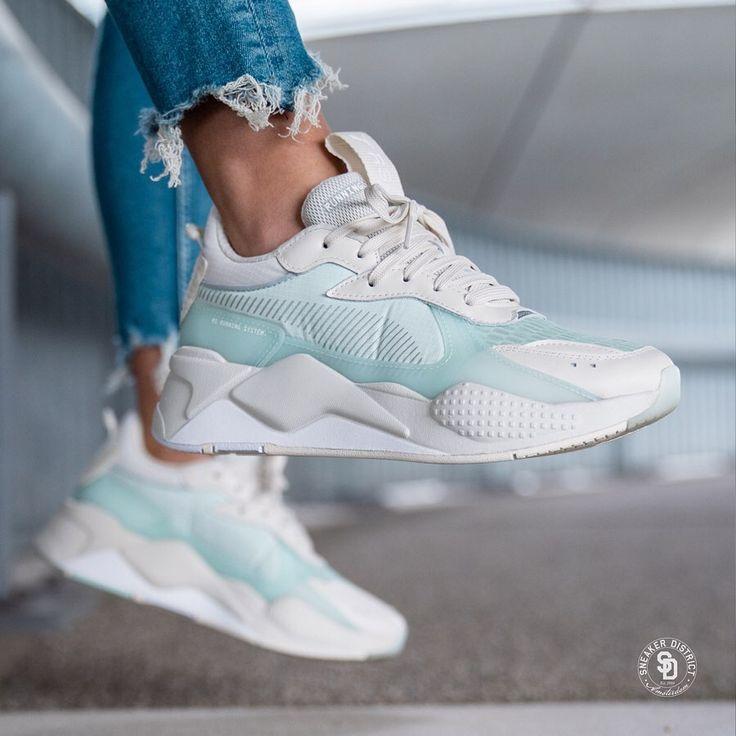 Puma RS-X Tech Light Gray/Aqua. Shop now online at Sneaker ...