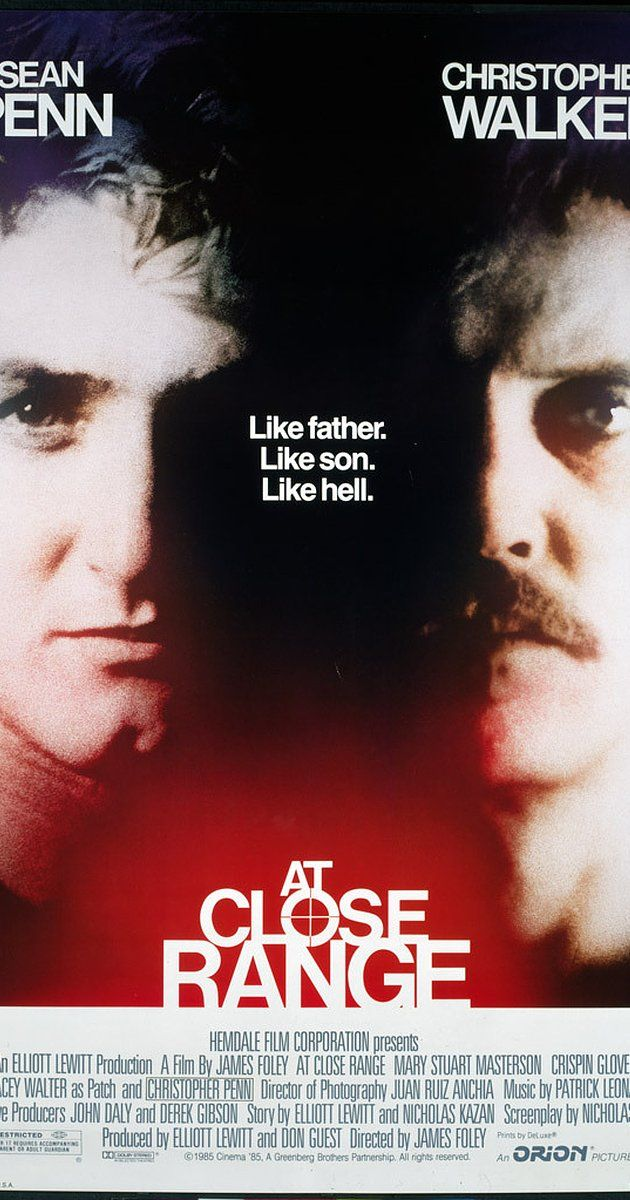 Directed by James Foley.  With Sean Penn, Christopher Walken, Mary Stuart Masterson, Chris Penn. In 1978 rural Pennsylvania an absentee father is reacquainted with his estranged teenage sons and they become intrigued with romanticized life of crime.