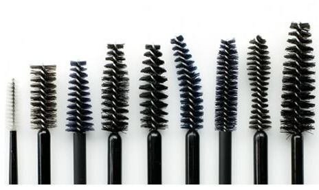 After you've tapped out your mascara tubes, save the wands. Wash and reuse them as eye brow brushes, for applying color to eye brows, or spray with hairspray before sweeping across eyebrows to keep stray hairs in place.