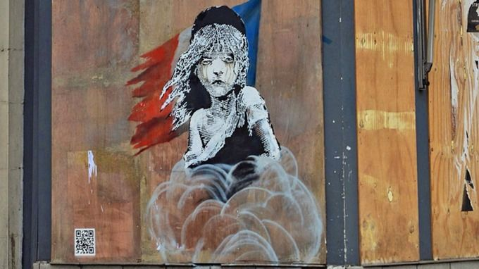 http://www.itv.com/news/2016-01-25/new-banksy-work-at-french-embassy-in-london-attacks-use-of-teargas-on-refugees-in-calais/