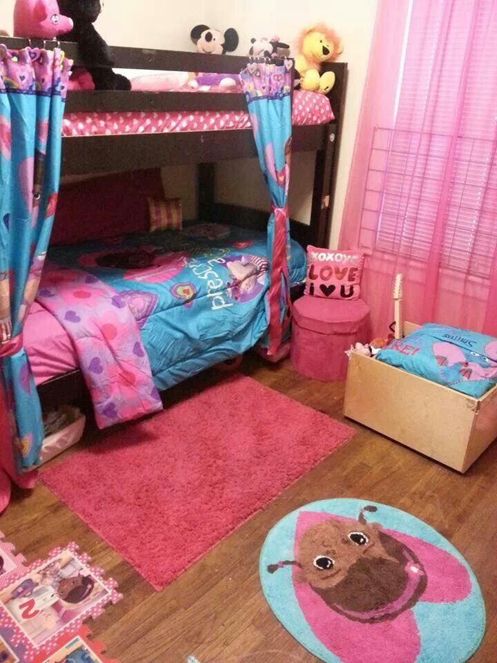 My Daughter's Doc Mcstuffins bedroom!