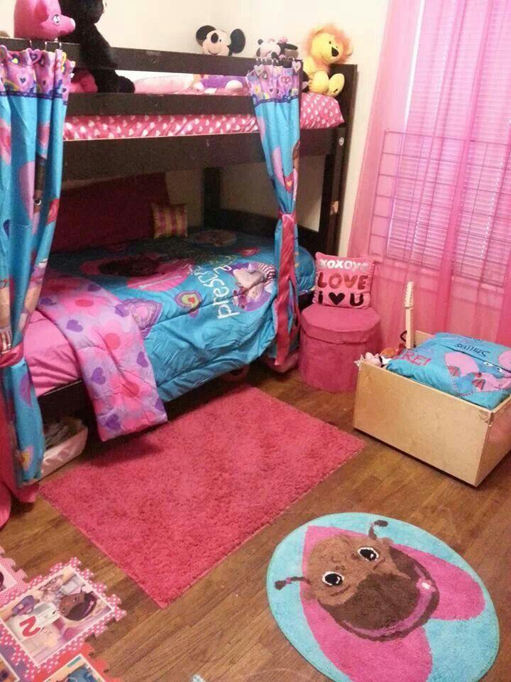 My Daughter's Doc Mcstuffins bedroom!