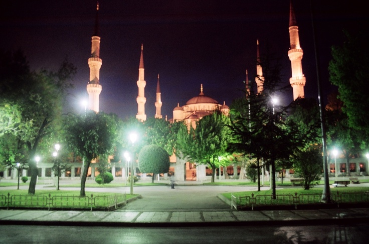 Stroll historic Sultanahmet at night, after the crowds have dispersed.