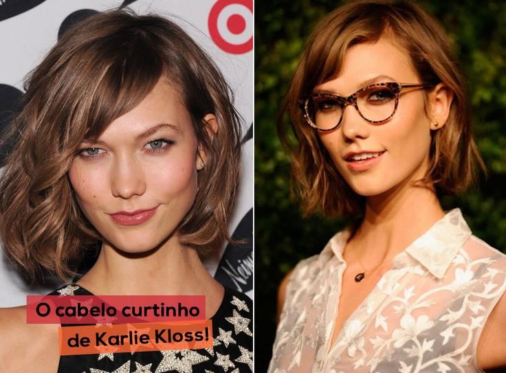 """De acordo com o hairstylist Garren Defazio, o reinado do cabelo solto com ondas sexy e textura de praia chegou ao fim! Segundo ele, """"O cabelo ondulado se tornou velho, assim como aconteceu com o cabelo ultraliso"""". O ideal agora é o cabelo curto, na altura dos ombros, como o de Karlie Kloss! Será??"""