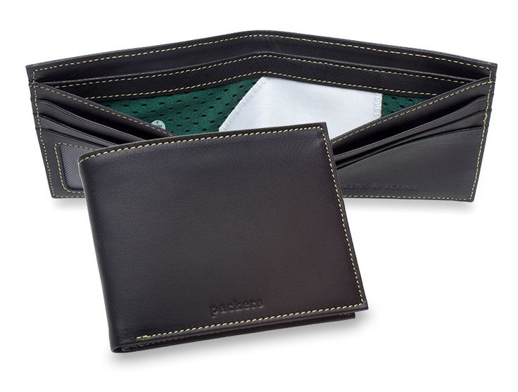 Green Bay Packers Game Used Uniform Wallet