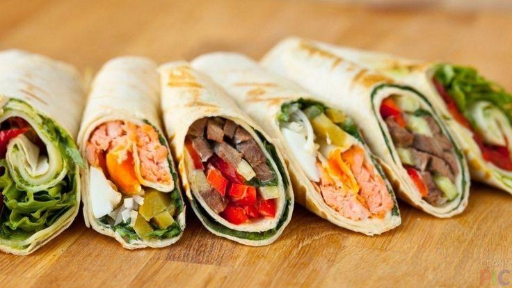 🔥8 вариантов вкуснейших начинок для ролла из лаваша, блина или омлета!    Сохрани на стену, чтобы не потерять📌    1. Куриная грудка + помидор + слабосолёный + огурец + сыр. Соус из горчицы, сметаны, томатной пасты и специй.    2. Слабосолёная рыба + сливочный сыр-лайт +огурец + авокадо.    3. Мексиканская смесь с соусом из паприки + горчица + сметана и чеснок.    4. Креветки + листья салата + пармезан + помидор + яйца. Соус из горчицы, сметаны и чеснока.    5. Ягоды + творог + ваниль…