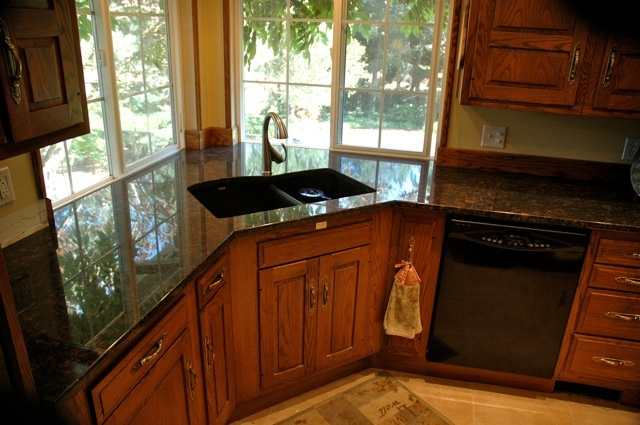 Corner Sink Kitchen Undermount : undermount corner sink, close dishwasher Remodeling Home Ideas ...