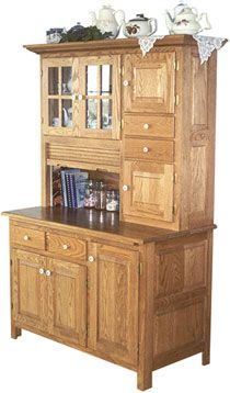 33% OFF Amish Furniture - Hand Crafted Shaker and Mission Furniture Online Outlet Store: Meredith's Hoosier Hutch: Cherry