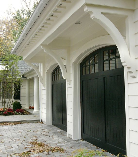 54 Cool Garage Door Design Ideas Pictures: Best 25+ Garage Exterior Ideas On Pinterest