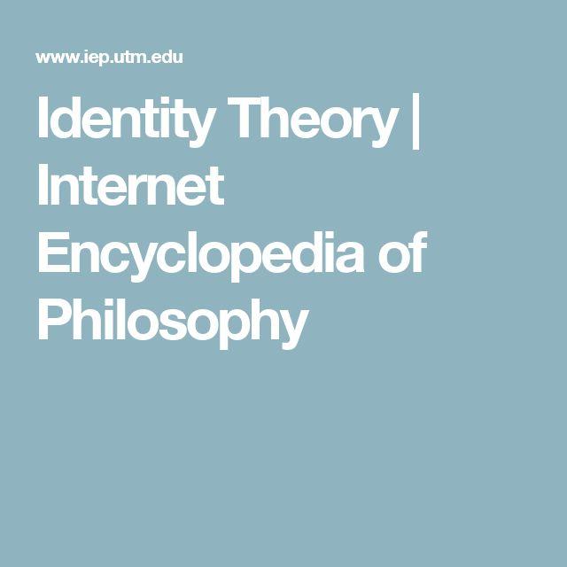 Identity Theory | Internet Encyclopedia of Philosophy