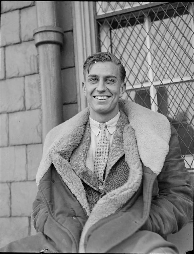 Harvard Crew Captain 1938