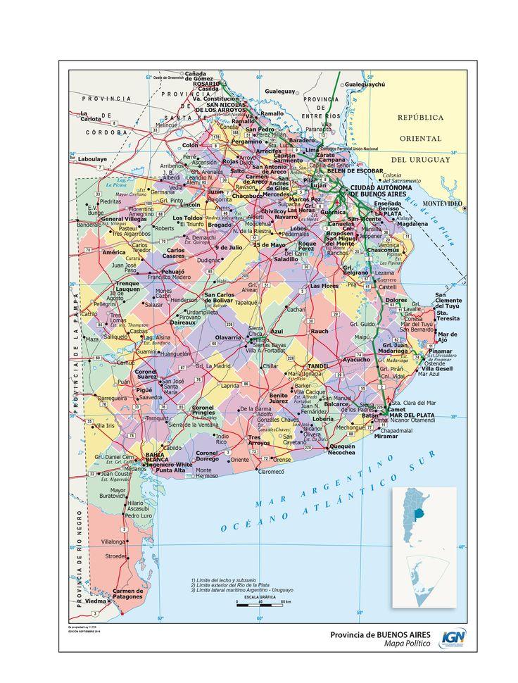 Mejores 77 imgenes de mapas de las provincias de argentina en mapa poltico de buenos aires instituto geogrfico nacional de la repblica argentina thecheapjerseys Image collections