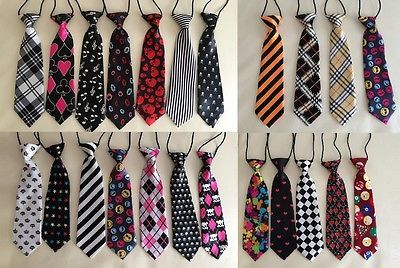 Baby Kids Boys Formal Elastic Easy TIE for Photo Prop Photography