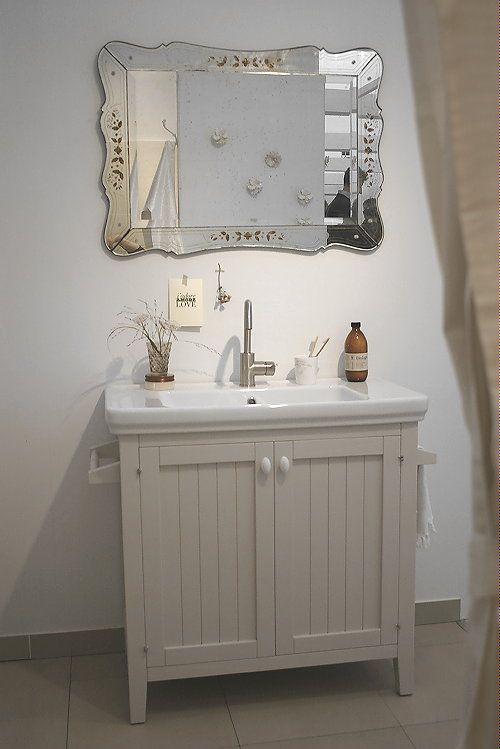 13 best images about droomhome dream homes on pinterest house brocante and french - Vintage badkamer ...