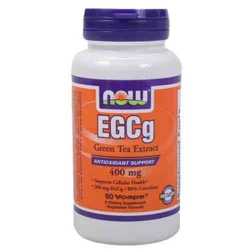 EGCG Groene thee extract - NOW - 90 capsules  EGCG Groene Thee Extract NOW Foods Er is een overvloed aan onderzoek dat aantoont dat het gebruik van groene thee op verschillende manieren tot gewichtsverlies leidt: het onderdrukt de eetlust en verhoogt de lichaamstemperatuur waardoor meer calorieën worden verbrand (thermogene werking). Uit onderzoek is gebleken dat voornamelijk de EGCG uit groene thee verantwoordelijk is voor de vetverbranding. EGCG Groene Thee Extract bevat maar liefst 200 mg…