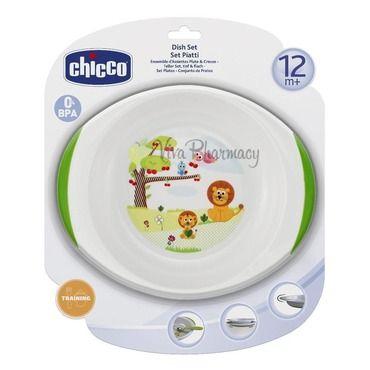 CHICCO ΣΕΤ ΠΙΑΤΟ & ΜΠΩΛ 0% BPA 12M+ 06827-00