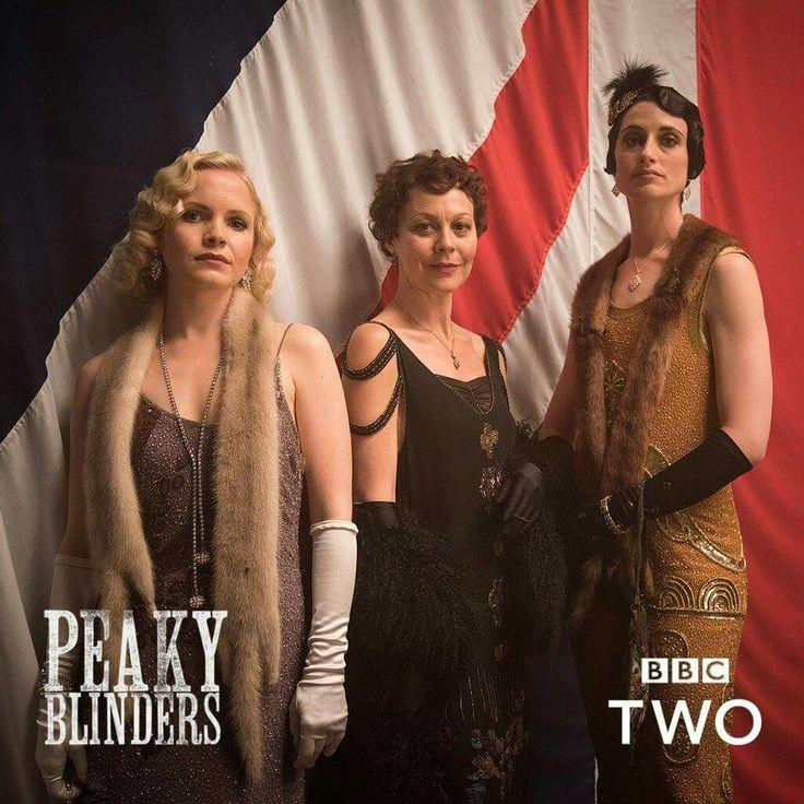 The women of Peaky Blinders (minus Ada, of course).