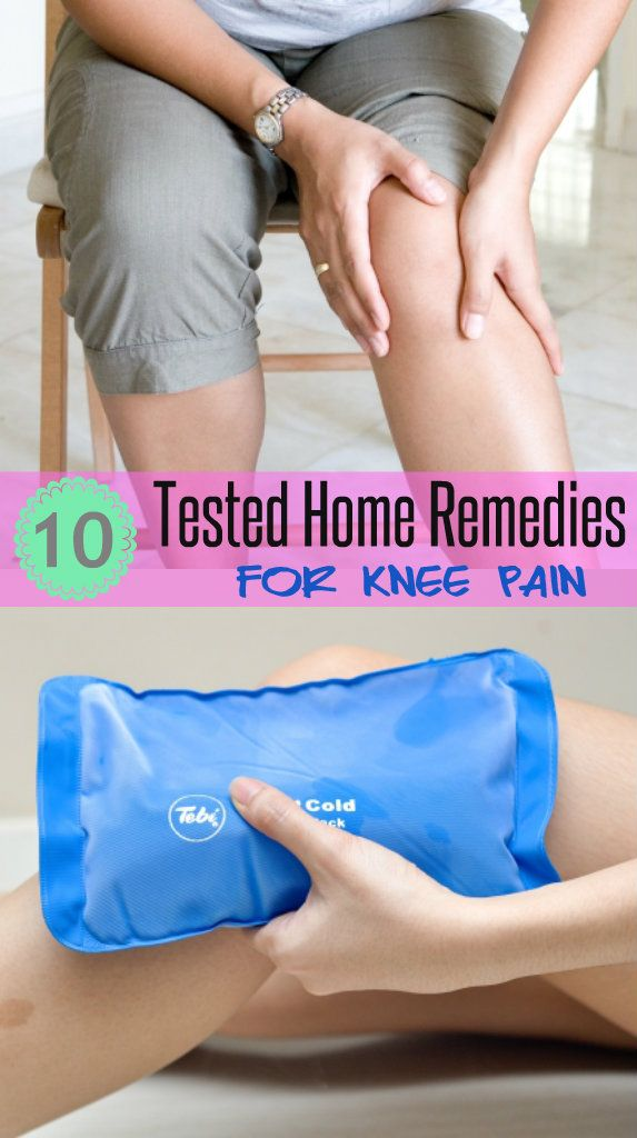 How to get relief from knee pain