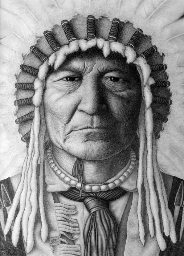 Sitting Bear by jm78.deviantart.com on @DeviantArt #nativeamerican #drawing