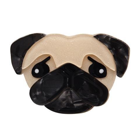 Pierre's Pug Life Brooch