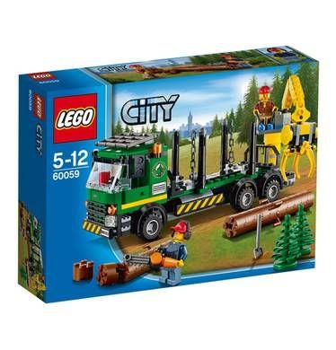 Spielwaren: LEGO City Holztransporte 60059 von DM sonstige Marken