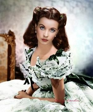 "Vivien Leigh for ""Gone With The Wind"" (1939) by Eva0707"