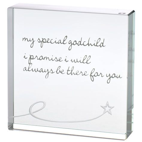 A Spaceform favourite! This piece is such a gorgeous and loving gift for a godchild.  Perfect to give as a christening gift, birthday or christmas, it really is a simple heartfelt sentiment.  Engraved with metallic silver words 'my special godchild, i promise i will always be there for you'. We wanted to design something that felt personally handwritten, delicately crafted and personally expressed.
