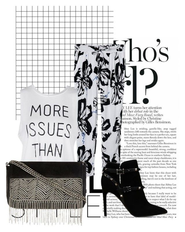 """""""Return to the Blue Lagoon"""" by junglequeen84 ❤ liked on Polyvore featuring Valentino"""