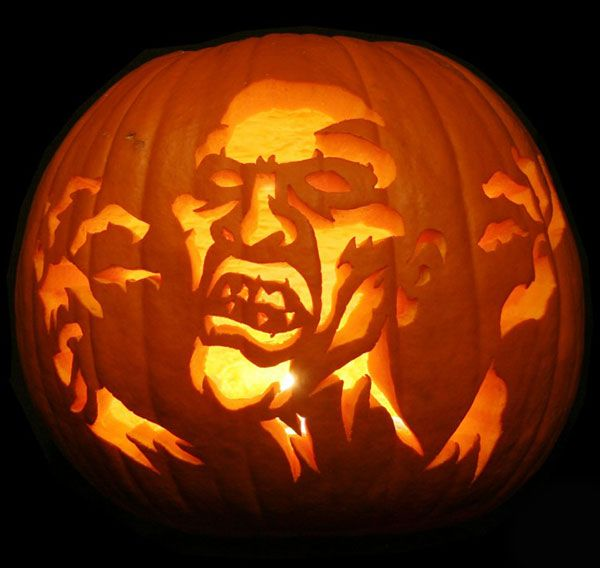 Scary Pumpkin Carving Patterns: 116 Best Pumpkin Carving Templates Images On Pinterest